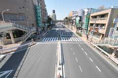 都営浅草線・馬込駅ちかくの歩道橋から見た景色。(2012-03-27,共用部,ENVIRONMENT,1F)