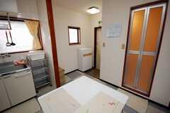 シェアハウスのラウンジ3。(2008-06-03,共用部,LIVINGROOM,3F)