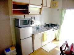 キッチンの様子。(2007-02-16,共用部,KITCHEN,4F)