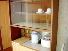 キッチンの様子3。共用の調理機器。(2007-02-16,共用部,KITCHEN,4F)