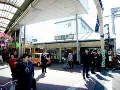 京浜急行線雑色駅。(2007-02-16,共用部,ENVIRONMENT,1F)
