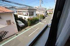 窓からの景色。(201号室)(2015-11-04,専有部,ROOM,2F)