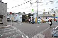 東急池上線・御嶽山駅の様子。(2012-06-19,共用部,ENVIRONMENT,1F)