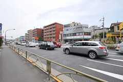 都営浅草線・西馬込駅からシェアハウスへ向かう道の様子。(2013-06-17,共用部,ENVIRONMENT,1F)