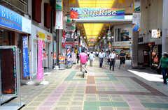各線・蒲田駅からシェアハウスへ向かう道の様子。(2013-07-18,共用部,ENVIRONMENT,1F)
