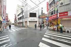 駅前から商店街が続きます。(2014-12-16,共用部,ENVIRONMENT,1F)