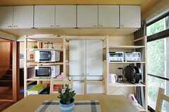 収納スペースは豊富です。(2013-06-04,共用部,KITCHEN,1F)