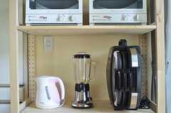 キッチン家電の様子。(2013-06-04,共用部,KITCHEN,1F)