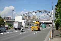 都営浅草線・馬込駅周辺の様子。シェアハウスまでの道のりは、大通りに面しています。(2012-09-12,共用部,ENVIRONMENT,1F)