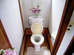 トイレの様子2。(2006-08-23,共用部,TOILET,2F)