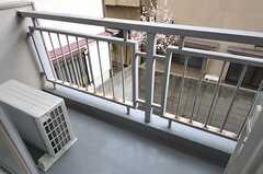 ベランダの様子。(210号室)(2012-03-28,共用部,OTHER,2F)