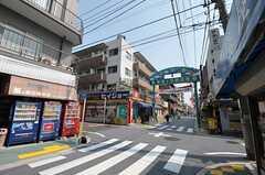 石川台希望ヶ丘商店街の様子。(2012-03-28,共用部,ENVIRONMENT,1F)