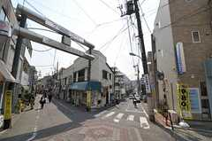 東急池上線・石川台駅周辺の様子。(2012-03-28,共用部,ENVIRONMENT,1F)