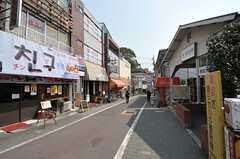 東急池上線・石川台駅周辺の様子2。(2012-03-28,共用部,ENVIRONMENT,1F)