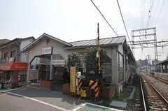 東急池上線・石川台駅の様子。(2012-03-28,共用部,ENVIRONMENT,1F)