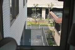 窓から見た景色。(201号室)(2015-04-28,専有部,ROOM,2F)