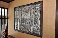 バリの絵画、ウブド・スタイルとの事。(2009-11-06,共用部,OTHER,1F)