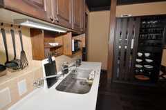 シェアハウスのキッチンの様子2。(2009-11-06,共用部,KITCHEN,1F)