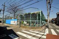 シェアハウスの近くには小学校があります。(2011-04-05,共用部,ENVIRONMENT,1F)