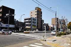 シェアハウスの近くには環状8号線が通っています。(2011-04-05,共用部,ENVIRONMENT,1F)
