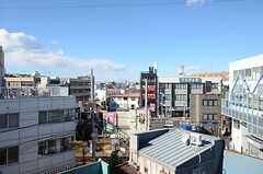 窓からの景色はこんな感じ。(404号室)(2012-12-10,専有部,ROOM,4F)