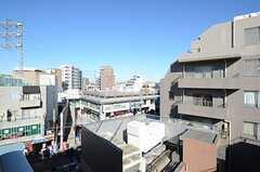 窓からの景色はこんな感じ。(502号室)(2012-12-10,専有部,ROOM,5F)