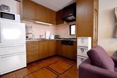 シェアハウスのキッチンの様子。(2010-06-24,共用部,KITCHEN,1F)