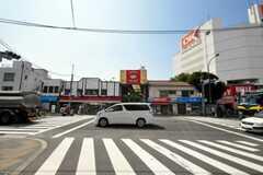 シェアハウスから京急本線雑色駅へ向かう道の様子。(2010-06-24,共用部,ENVIRONMENT,1F)