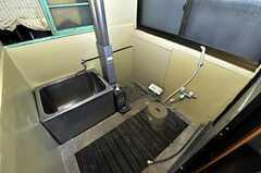 バスルームの様子。(2010-11-16,共用部,BATH,1F)