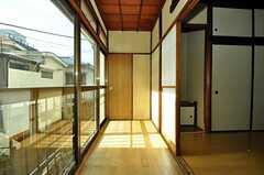 専有部の様子4。正面のドアは専用のトイレです。(202号室)(2010-11-16,専有部,ROOM,2F)