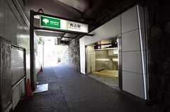 都営浅草線・馬込駅の様子。(2010-11-16,共用部,ENVIRONMENT,1F)