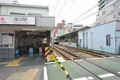 東急多摩川線・蓮沼駅の様子。(2015-09-16,共用部,ENVIRONMENT,1F)