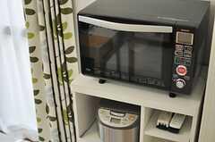 キッチン家電の様子。(2014-06-26,共用部,LIVINGROOM,1F)