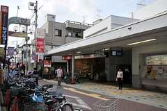 池上線・長原駅の様子。(2014-06-26,共用部,ENVIRONMENT,1F)