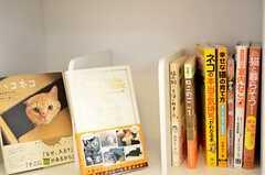 ここにも、ねこ本。ねこづくし。(2012-05-21,共用部,LIVINGROOM,1F)
