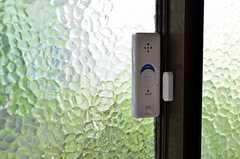 警報機の様子。(101号室)(2012-05-21,専有部,ROOM,1F)