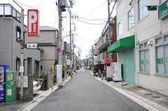 都営浅草線・馬込駅からシェアハウスへ向かう道の様子。(2012-05-21,共用部,ENVIRONMENT,1F)