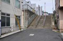 シェアハウスから都営浅草線・馬込駅へ向かう道の様子。(2012-05-21,共用部,ENVIRONMENT,1F)
