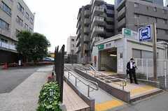 都営浅草線・馬込駅の様子。(2012-05-21,共用部,ENVIRONMENT,1F)
