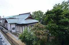 隣はお寺。(2014-10-07,共用部,ENVIRONMENT,1F)