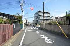 周辺は住宅街です。(2014-10-07,共用部,ENVIRONMENT,1F)