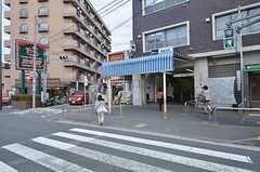 各線・西馬込駅の様子。(2014-10-07,共用部,ENVIRONMENT,1F)
