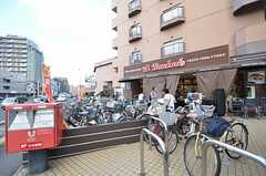 駅前のスーパーの様子。(2014-10-07,共用部,ENVIRONMENT,1F)