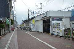 東急多摩川線・矢口渡駅の様子。(2015-07-16,共用部,ENVIRONMENT,1F)