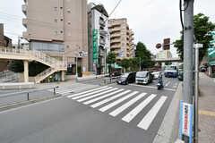 駅前には環状七号線が通っています。(2017-07-04,共用部,ENVIRONMENT,1F)