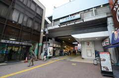 京急本線・平和島駅の様子。(2016-02-15,共用部,ENVIRONMENT,1F)