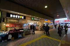 京急本線・平和島駅の改札前の様子。(2016-02-15,共用部,ENVIRONMENT,1F)