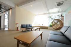 ゆったり座れます。(2011-03-11,共用部,LIVINGROOM,1F)