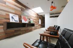 キッチン脇には、スタディ・スペースもあります。(2011-03-11,共用部,LIVINGROOM,1F)