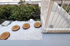 専用の玄関の様子。(104号室)(2011-03-11,専有部,ROOM,1F)